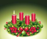 Erster Advent / Adventskranz