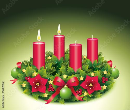 Zweiter Advent / Adventskranz