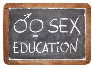 sex education on blackboard