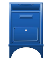 mailbox icon illustration