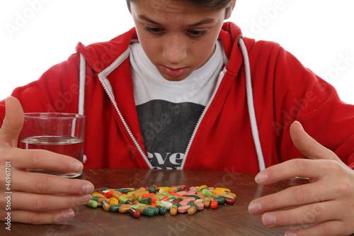 Zu viele Pillen