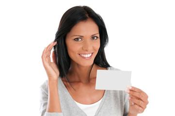 Young woman communication