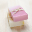 Soap bars with natural ingredients