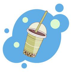 Illustration wit cup