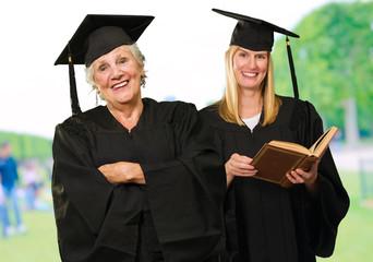 Happy Graduate Women