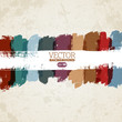 Abstract vector hand-painted grunge background