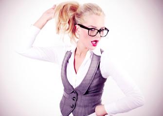 Flirten - Businesswoman