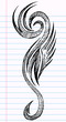 Sketch Doodle Tattoo Vector