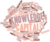 Word cloud for Knowledge capital