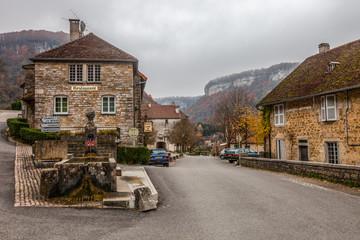 Baume-les-Messieurs  Village, France