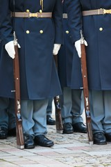 honor guard, Czech republic
