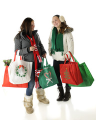 Tweens Meet Christmas Shopping