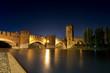 Castelvecchio by Night (1357) - Verona Italy