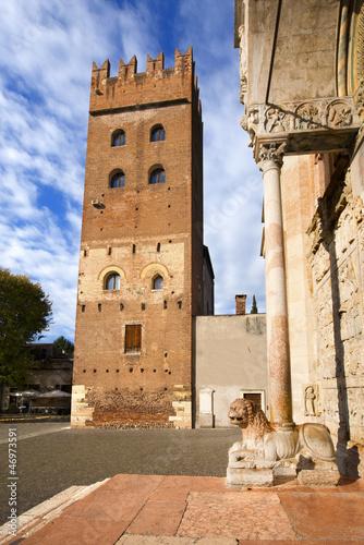 Torre Abbaziale di San Zeno - Verona Italy