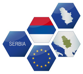 Vector Iconset *** EU Serbia