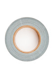 Adhesive tape lying on a white background