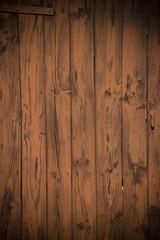 Old painted wooden door