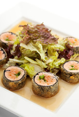Japanese Cuisine - Deep-fried Sushi Roll