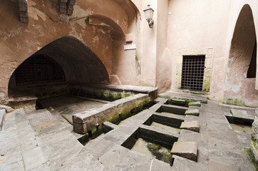 Washhouse at Cefalù