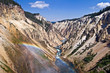 Grand canyon of the Yellowstone - Wyoming USA