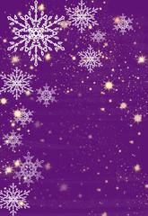 Lila Weihnachtlicher Hintergrund