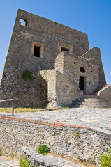 Talao tower. Scalea. Calabria. Italy.
