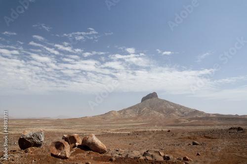 Montain in the desert of Boa Vista