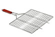 Stainless barbecue grill camping basket