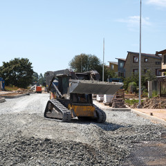 construction of a new street