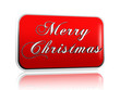red banner Merry Christmas