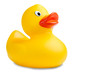 image of a cute rubber duckling