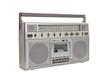 Vintage Boom Box Portable Radio Cassette