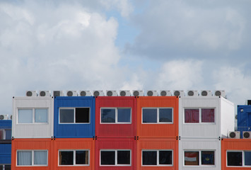 Detail of Container homes -  Netherlands