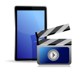 movie editing on a tablet