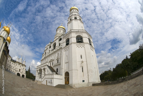 Ivan the Great Bell-Tower complex in the Moscow Kremlin. Russia.