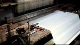 Silk manufacturing poster