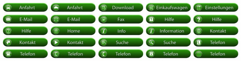 Grüne Buttons