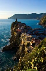 Vernazza al tramonto , Cinque terre , Liguria