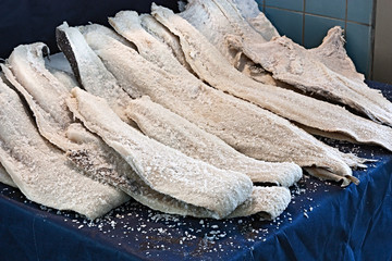 dried salted cod