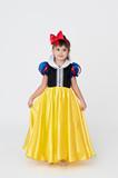 Pretty girl wearing Snow White fancy dress