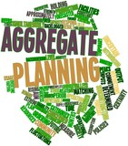 Word cloud for Aggregate planning