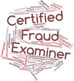 Word cloud for Certified Fraud Examiner