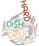 Word cloud for Hard disk drive