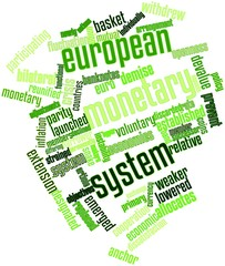 Word cloud for European Monetary System