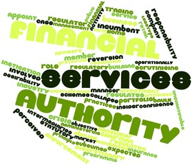 Word cloud for Financial Services Authority