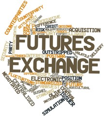 Word cloud for Futures exchange