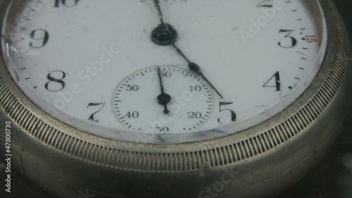Pocket Watch Shaking Abstract
