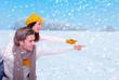 winterzeit paar