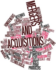 Word cloud for Mergers and acquisitions