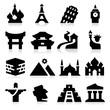 Landmarks Two Icons